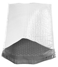 """Size #000 (4.25""""x7"""" Interior) Poly Bubble Mailers with Peel-N-Seal"""