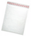 "Size #6 (12.5""x18"" Interior) Kraft White Bubble Mailers with Peel-N-Seal"