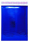 """Size #1 (7.25""""x11"""" Interior) Glamour Blue Bubble Mailers with Peel-N-Seal"""