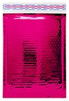 """Size #1 (7.25""""x11"""" Interior) Glamour Hot Pink Bubble Mailers with Peel-N-Seal"""
