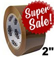 "2""x110Y DuraTape® Tan Carton Sealing Tape (**SUPER SALE**)"