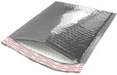 """Size #00 (5""""x9"""" Interior) Thermal Cold Pack Bubble Mailers with Peel-N-Seal"""