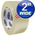 "2""x110Y Dura Tape Clear Carton Sealing Tape"